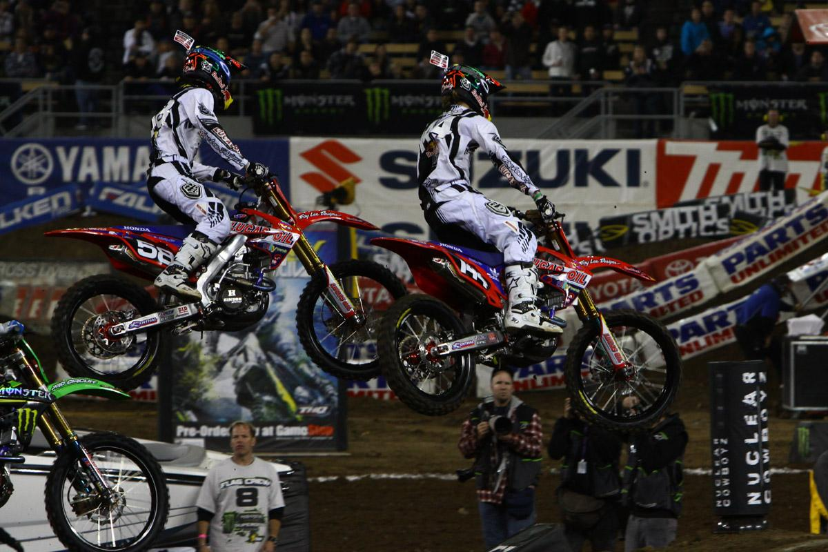 The TLD duo of Travis Baker and Christian Craig