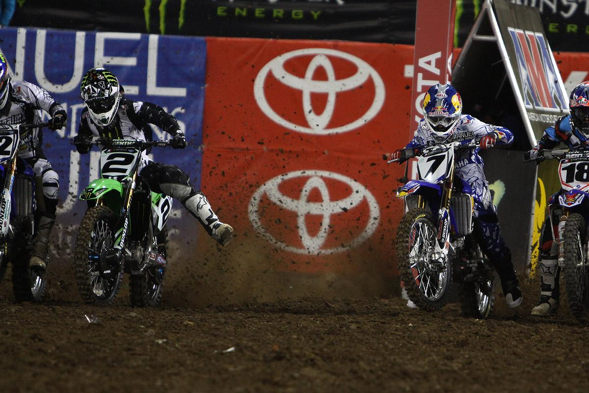Stewart and RV had a showdown to remember in LA