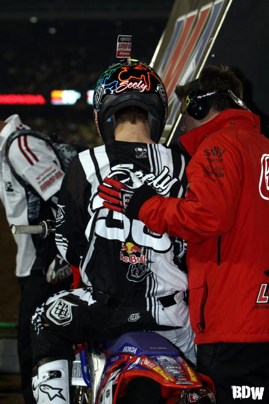A night to remember for Seely