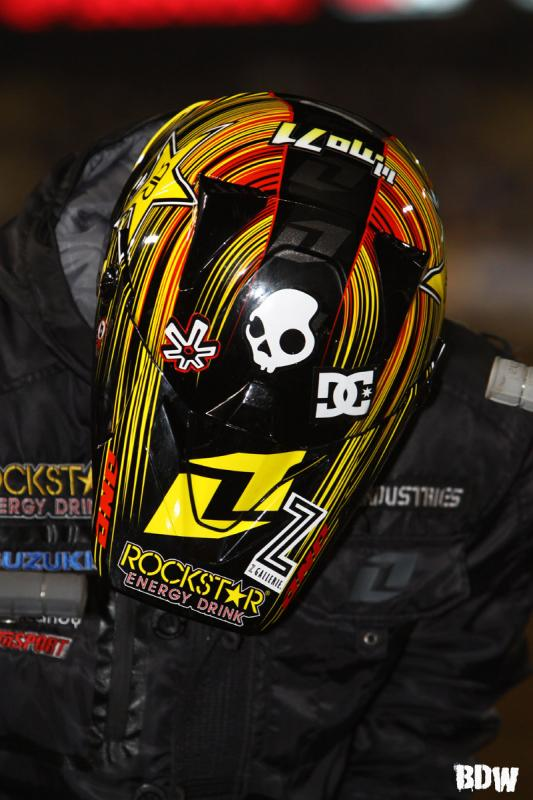 Rockstar Energy showing off their sick lids