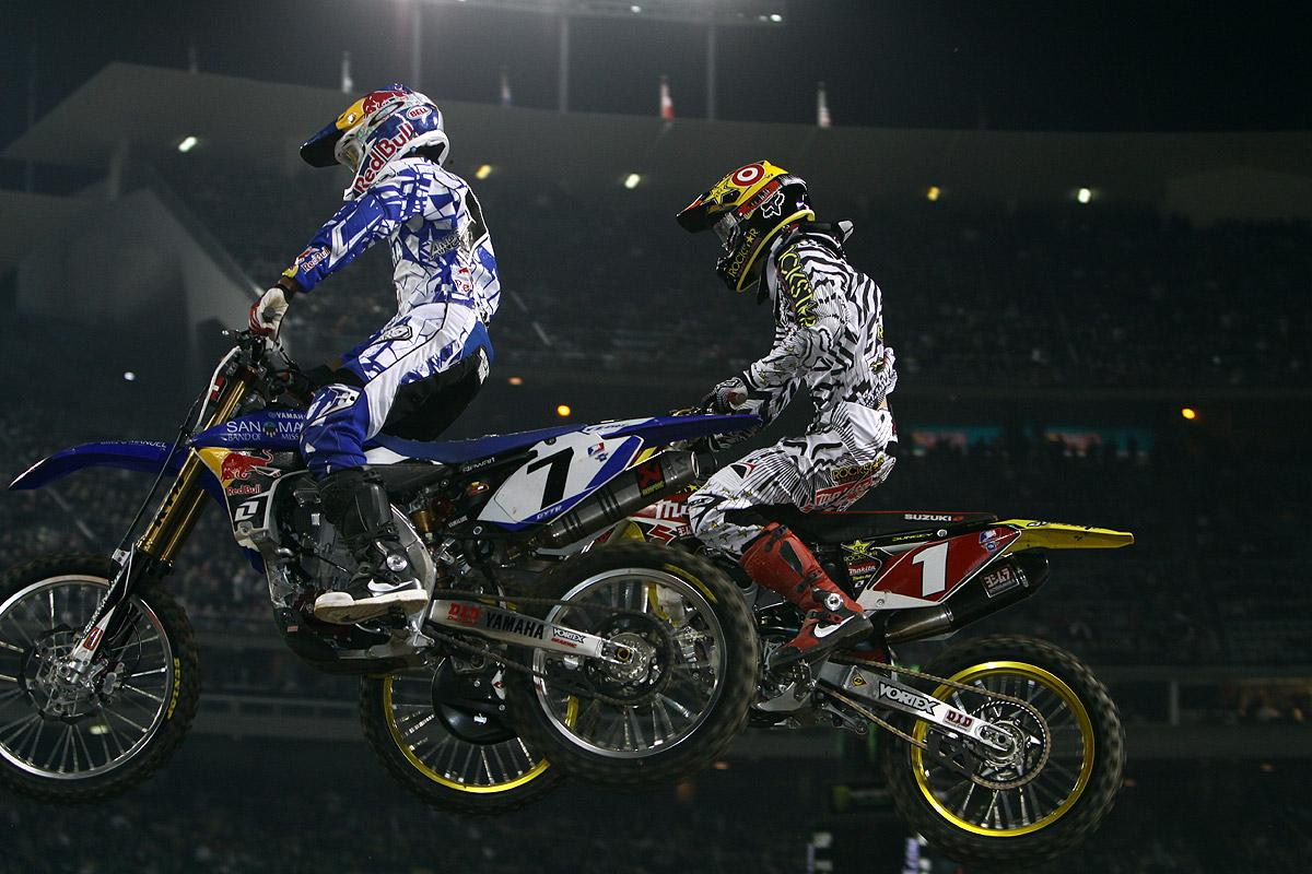 Stewart would get the best of Dungey in the end