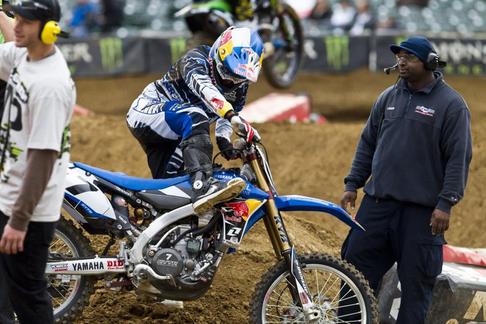 Oakland SX: First <strong>Practice Report</strong>