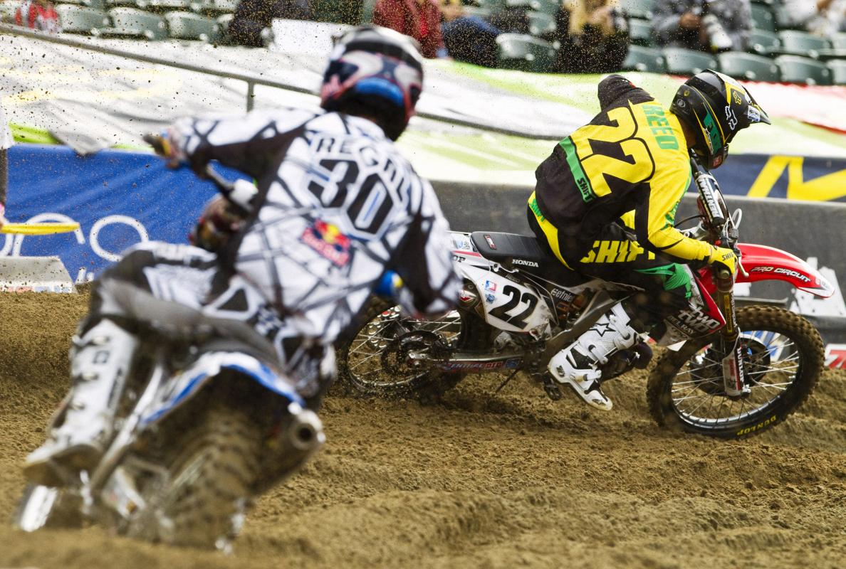 Chad Reed (22) and Kyle Regal are looking for a little more.