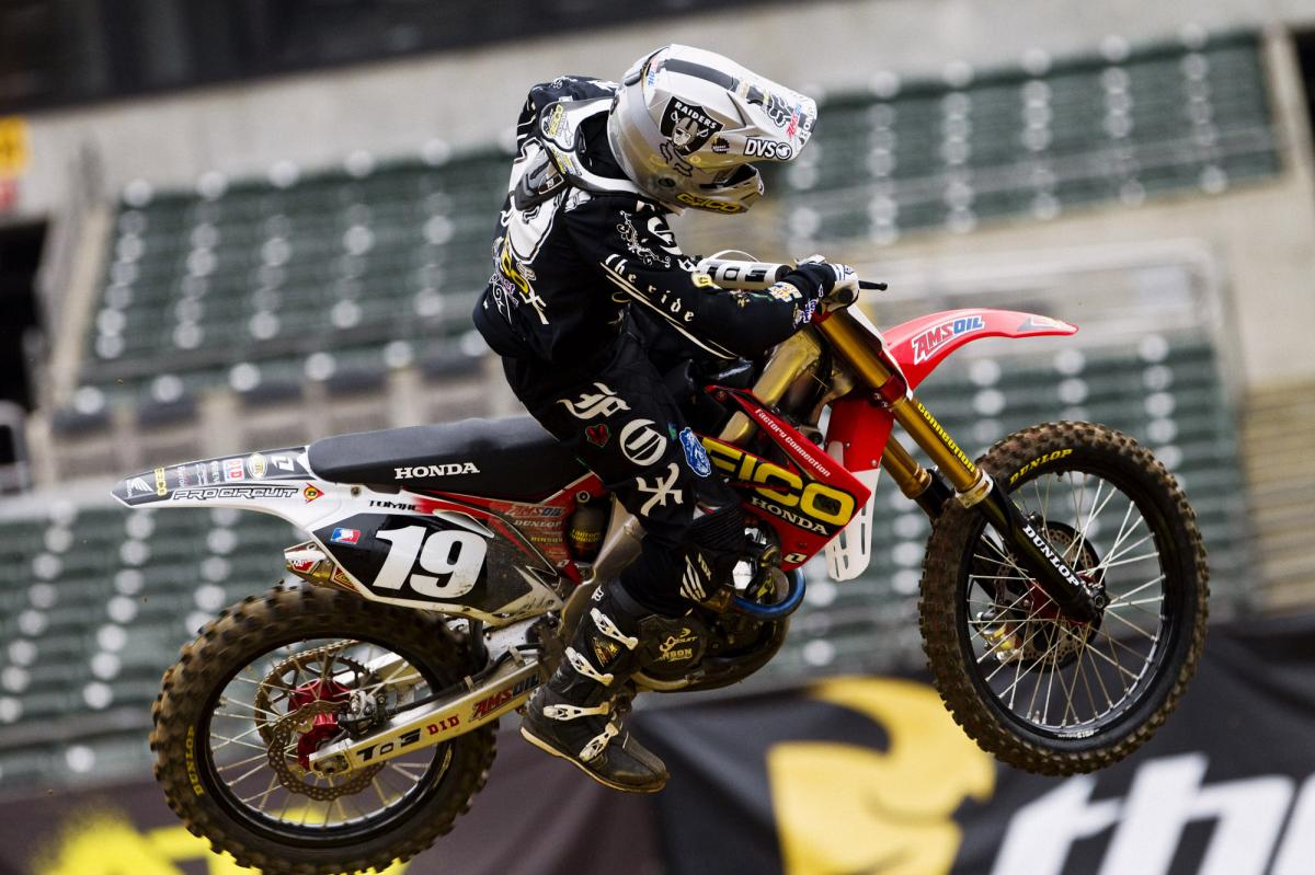 Eli Tomac hopes to build on his podium from last week.