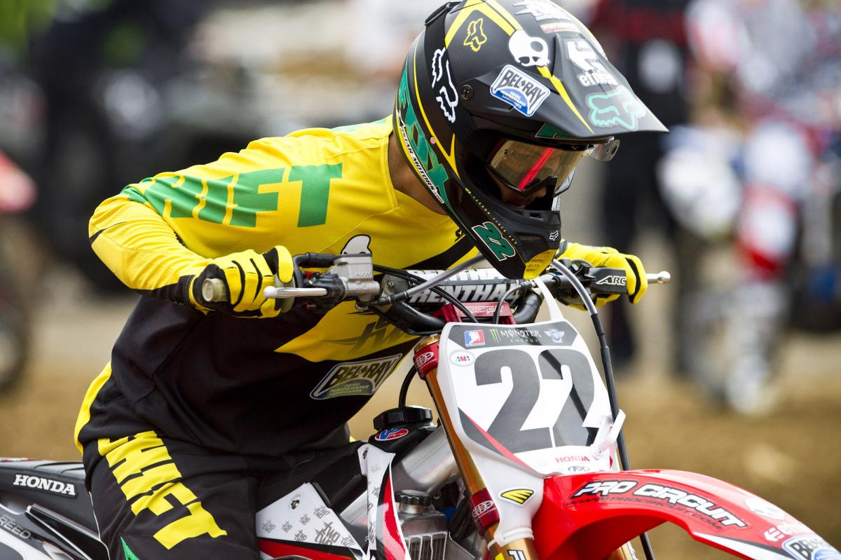 Chad Reed celebrates Australia Week with some cool new gear. But will it be the Australian's night?