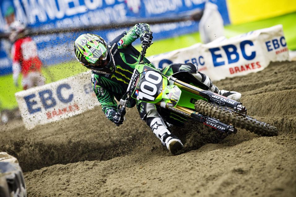 Oakland SX Final Practice Report
