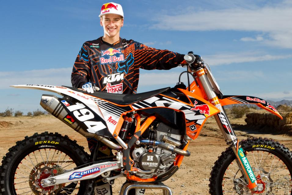 First Look: Ken Roczen on KTM