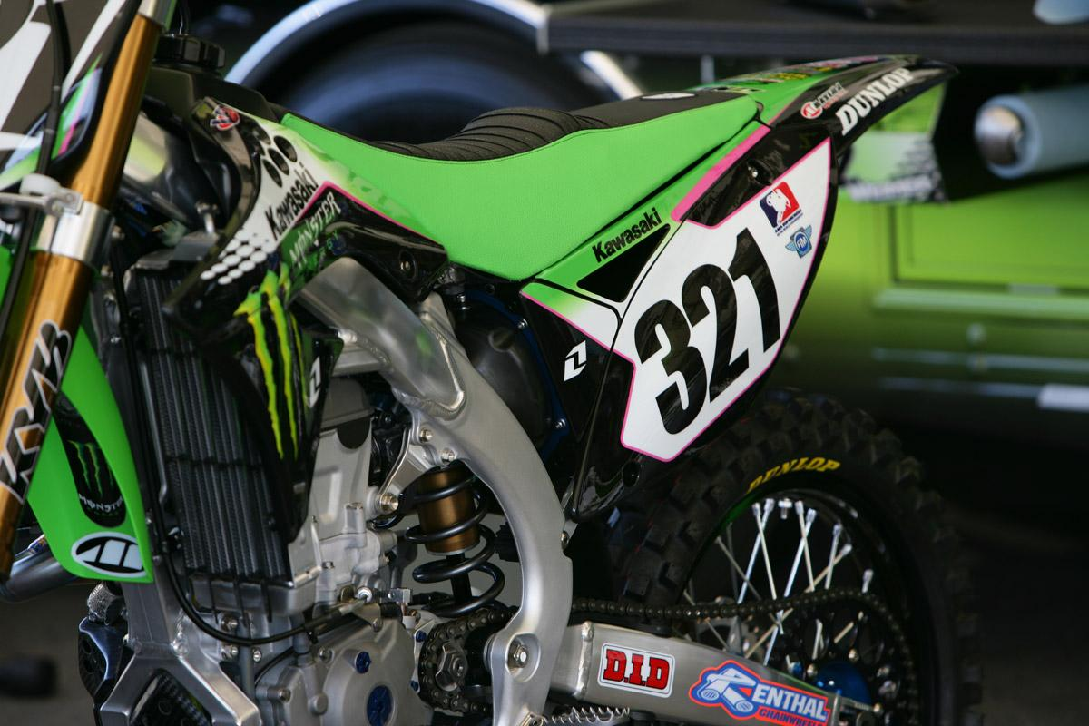 French import Fabien Izoird will make his debut for Monster Energy Kawasaki at A2