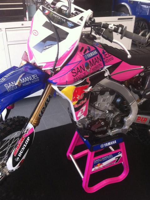 James Stewart and San Manuel have jumped on the Pink train