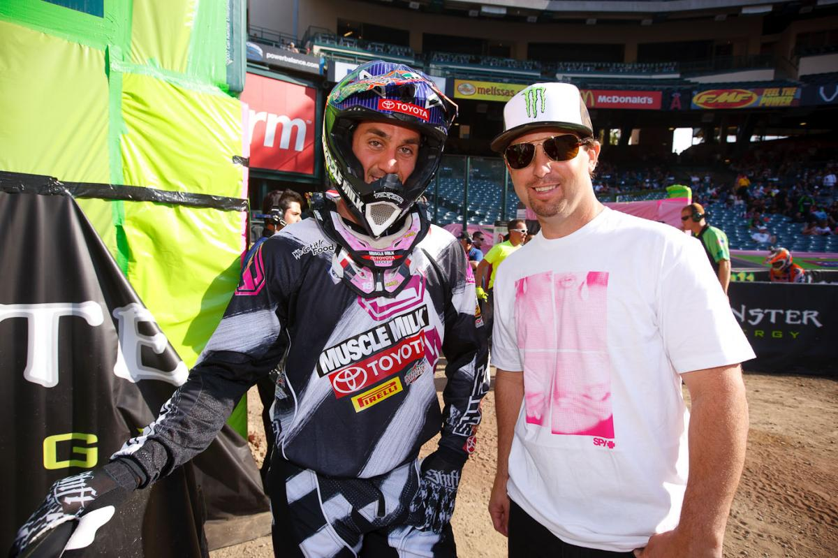 Davi Millsaps and Jeremy McGrath
