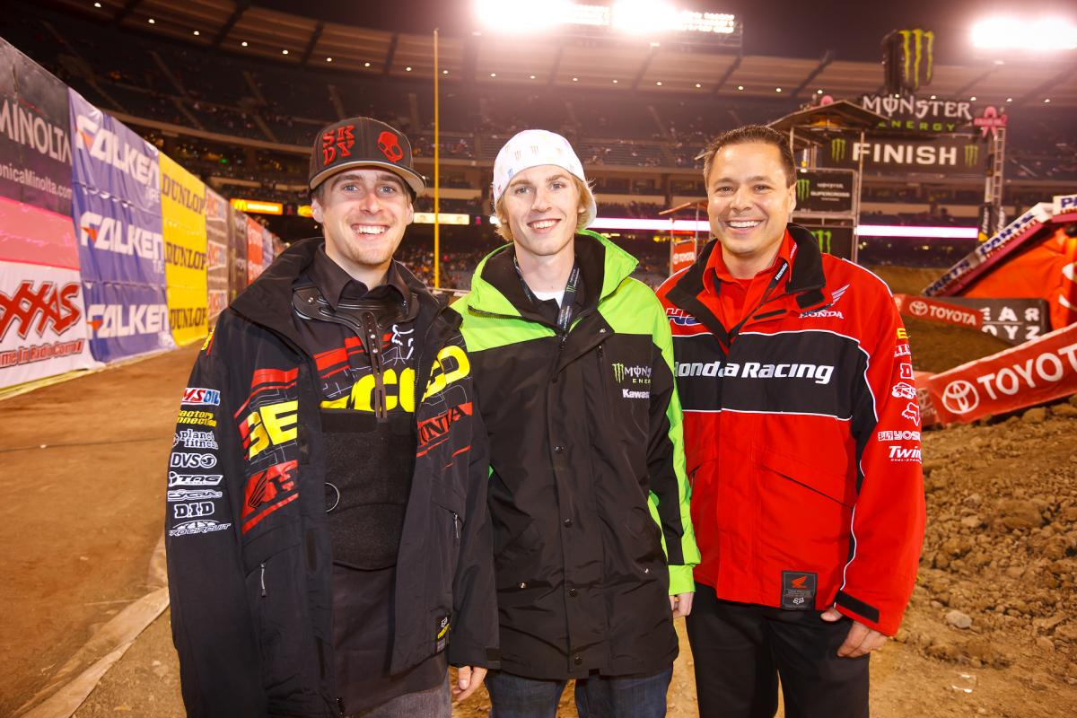 Wil Hahn, Jake Weimer, and Bill Savino