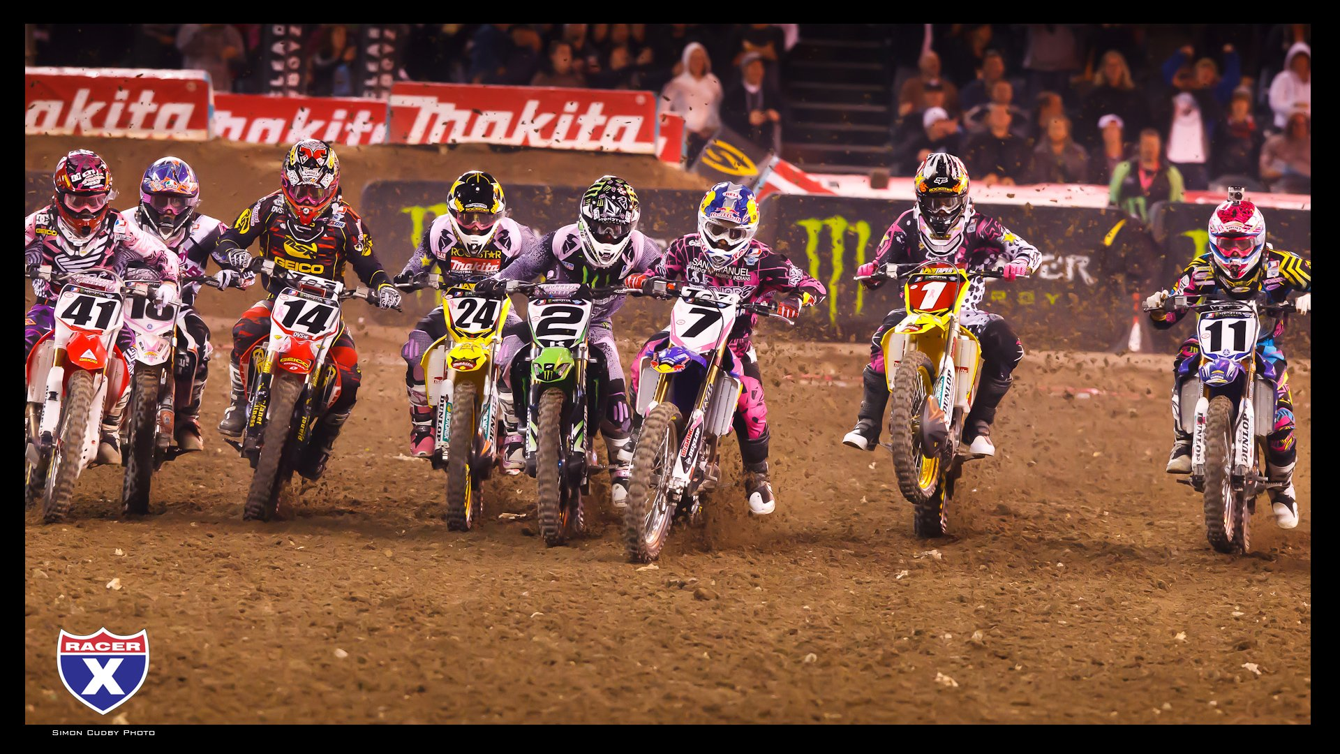 Supercross start wallpaper