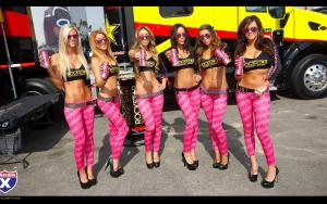 Rockstar Girls go pink