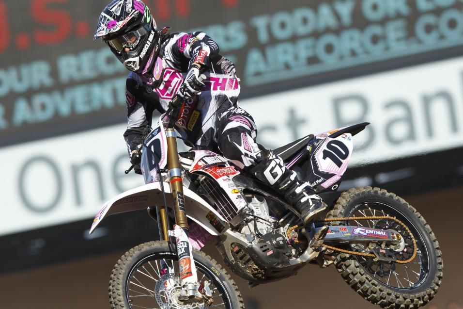 <strong>Going for the W:</strong> Justin Brayton