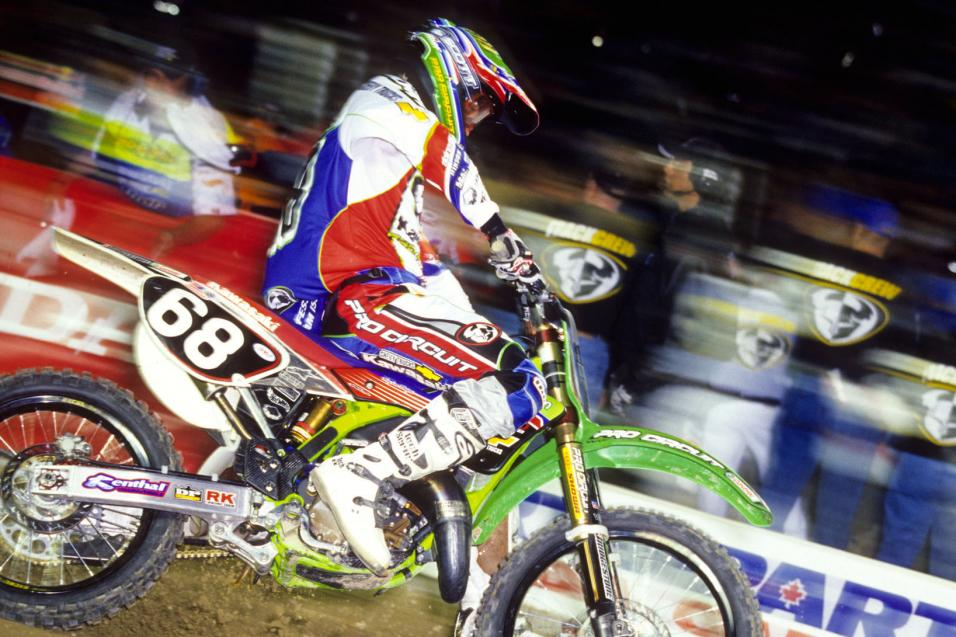 This Week in Kawasaki SX History: Houston 2002