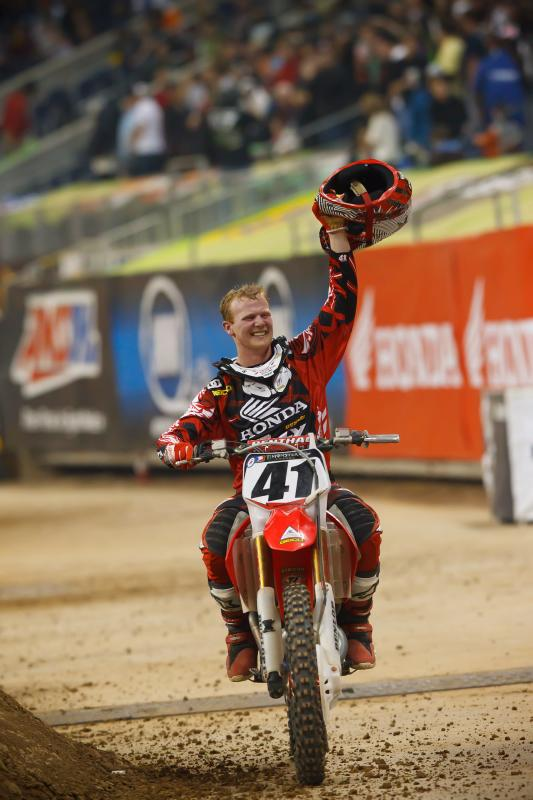 Trey Canard's first 450 SX victory