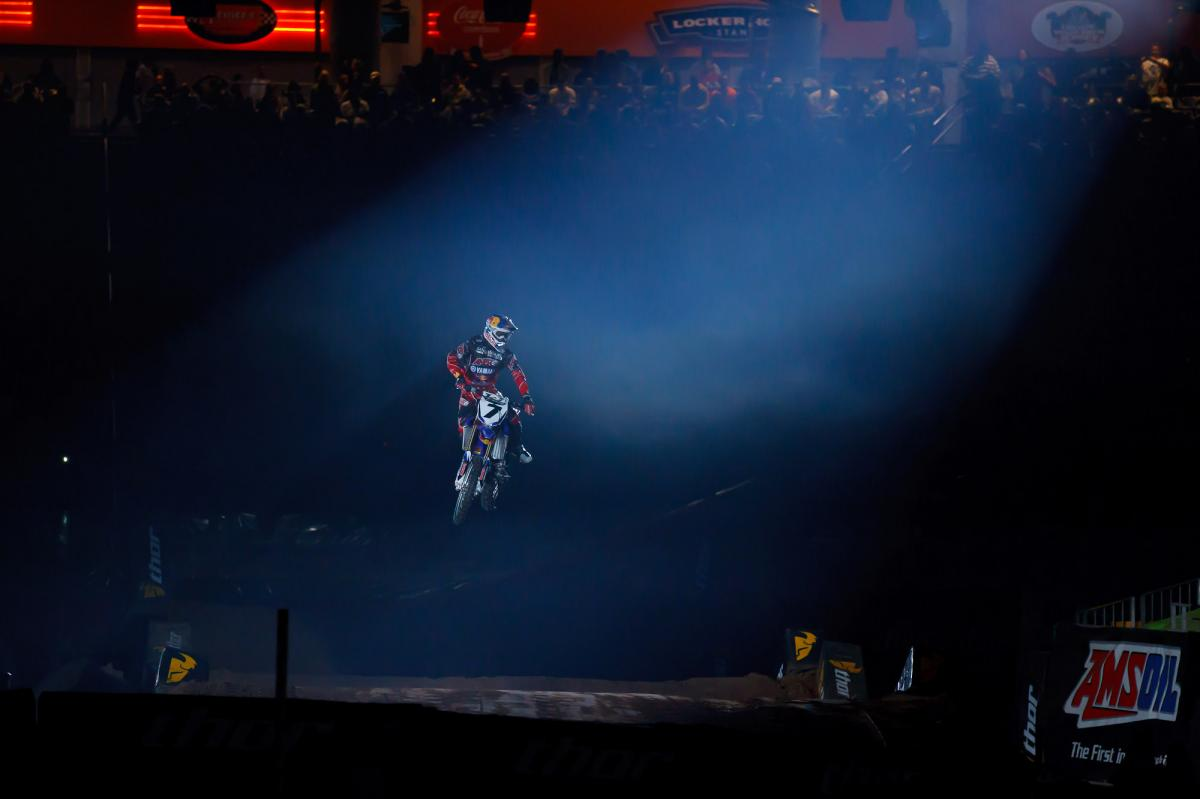 James Stewart at opening ceremonies