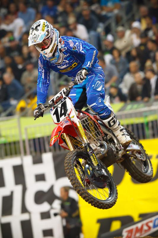 Kevin Windham led 8 laps at Houston...