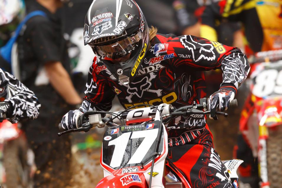 <strong>Going for the W:</strong> Justin Barcia