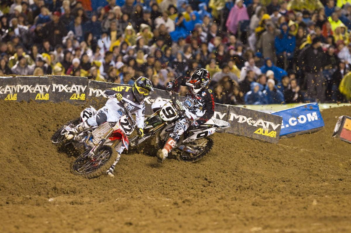 Chad Reed was strong all night