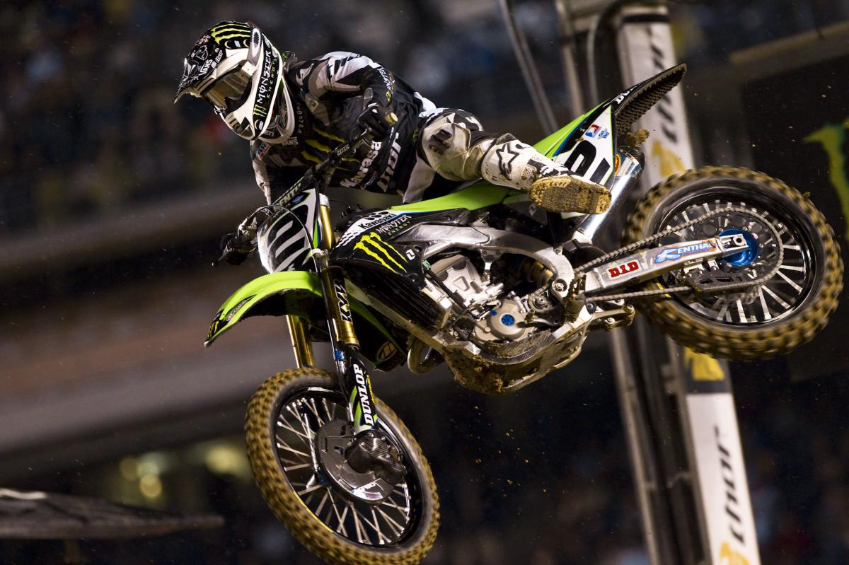 Ryan Villopoto had a tough night in San Diego, but he still holds the points lead