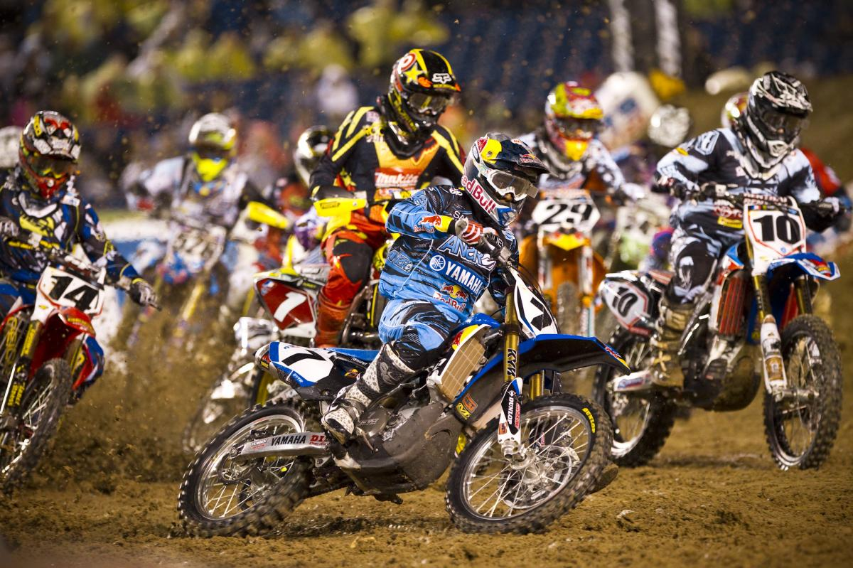 James Stewart didn't look comfortable in the San Diego mud