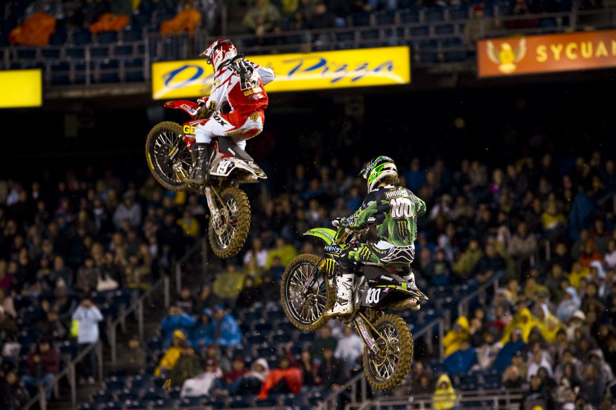 Hansen couldn't manage to match the pace of Tomac