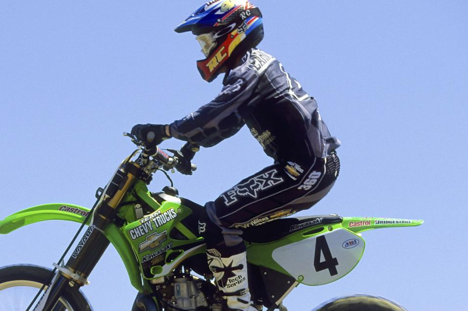 This Week in Kawasaki SX History: Daytona 2000