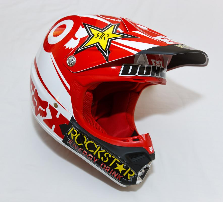 Ryan Dungey's helmet