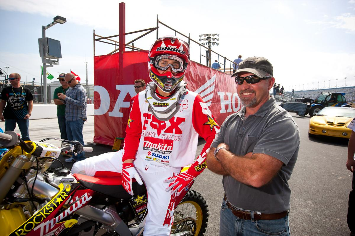 Ryan Dungey and Mark Barnett