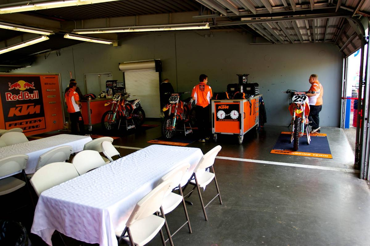 Red Bull KTM Pits