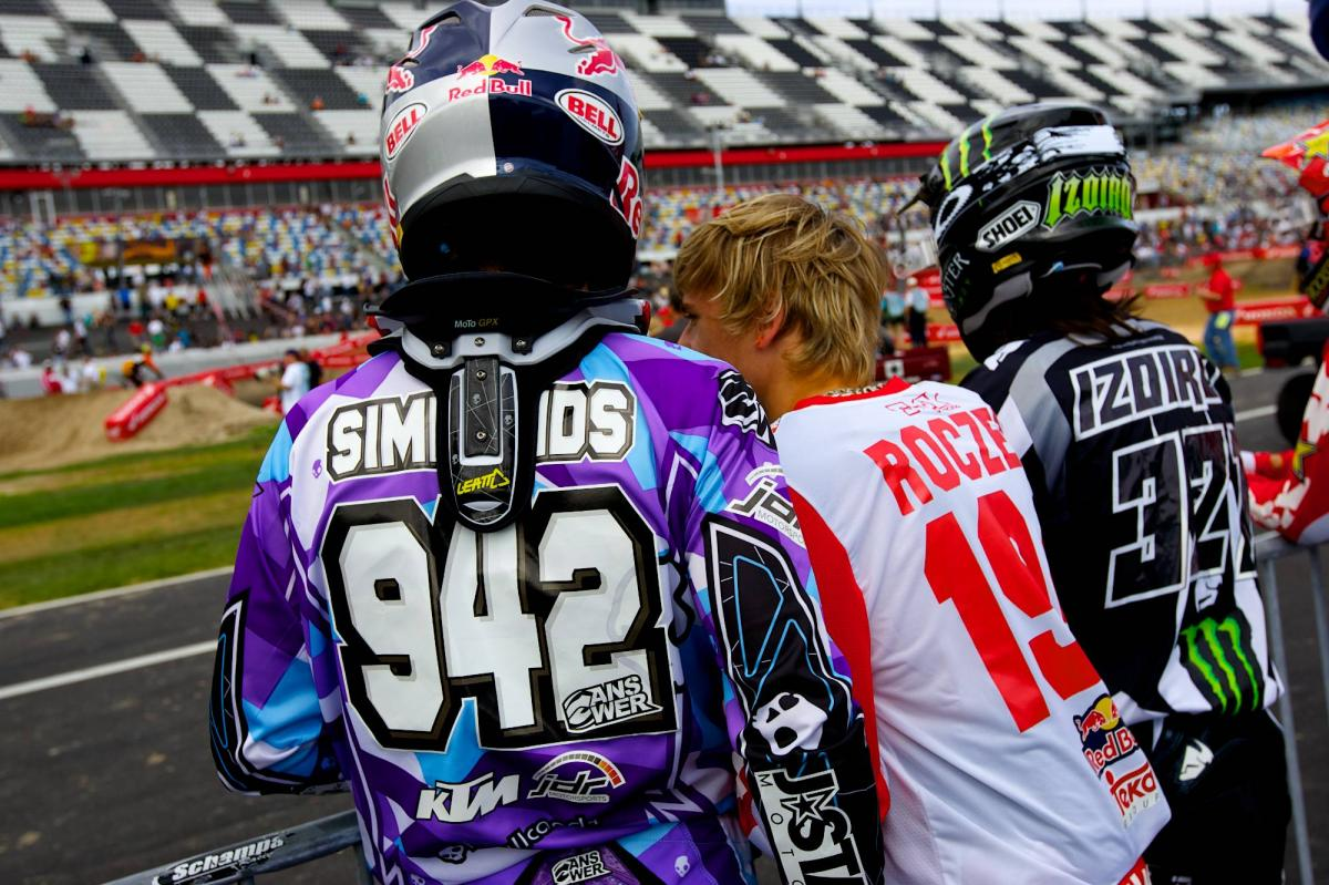 Simmonds, Roczen, and Izoird