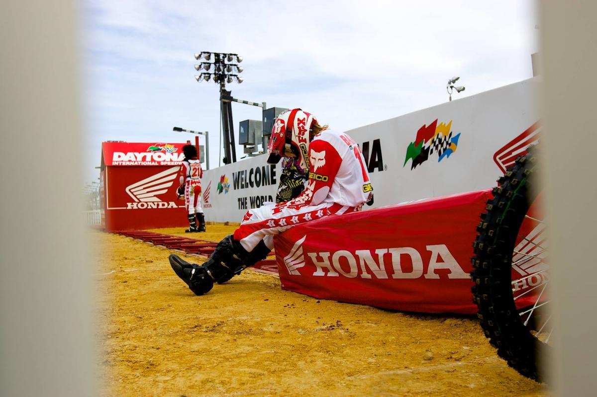 Justin Barcia getting in the zone
