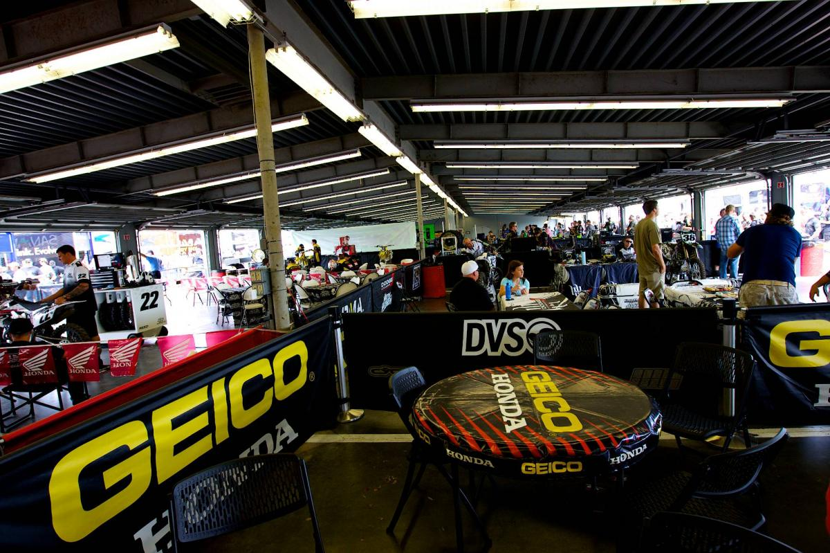 Daytona Pits