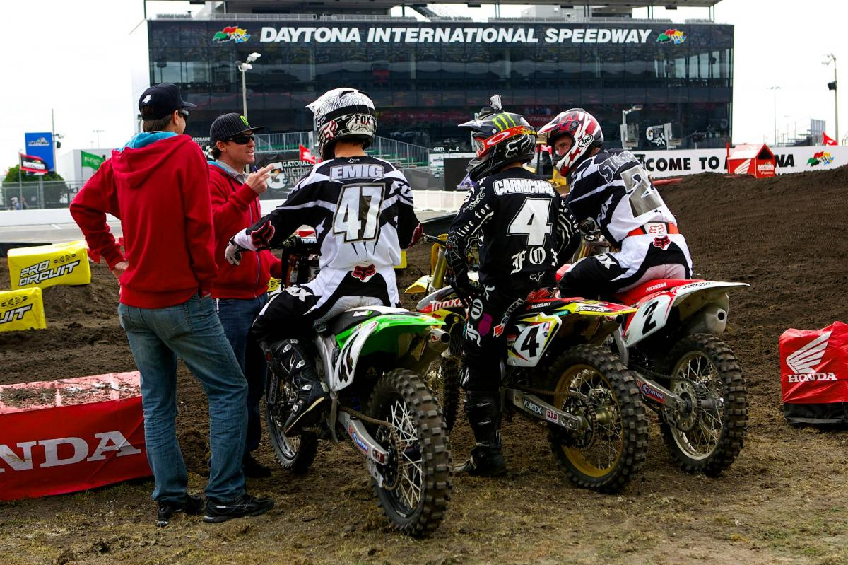 The Instructors: Kevin Foley, Damon Bradshaw, Jeff Emig, RC, Jeff Stanton