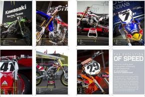 In motocross, technology and biology share equal billing. The sport's elite teams let us behind the garage door and tell us what's new under the fender for 2011. Page 136.