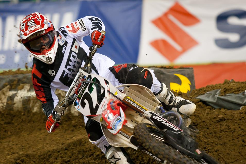 Going for the W: Chad Reed