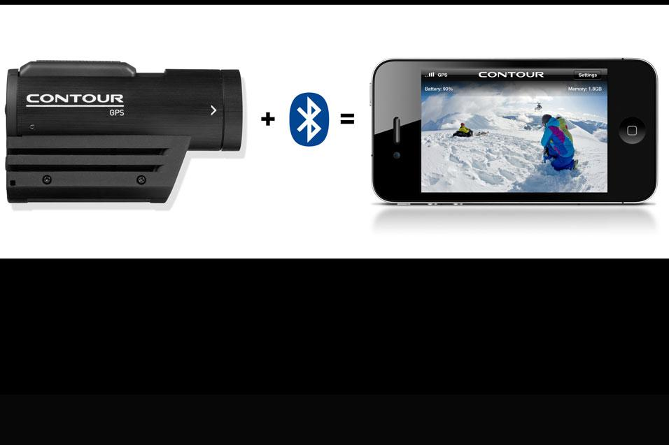 Contour launches connect view card and iphone app for - Camera connectee iphone ...