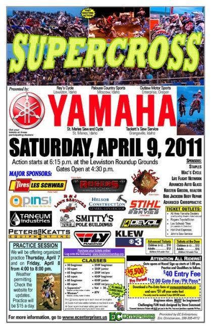 Superx in idaho this weekend racer x online for Yamaha lewiston id