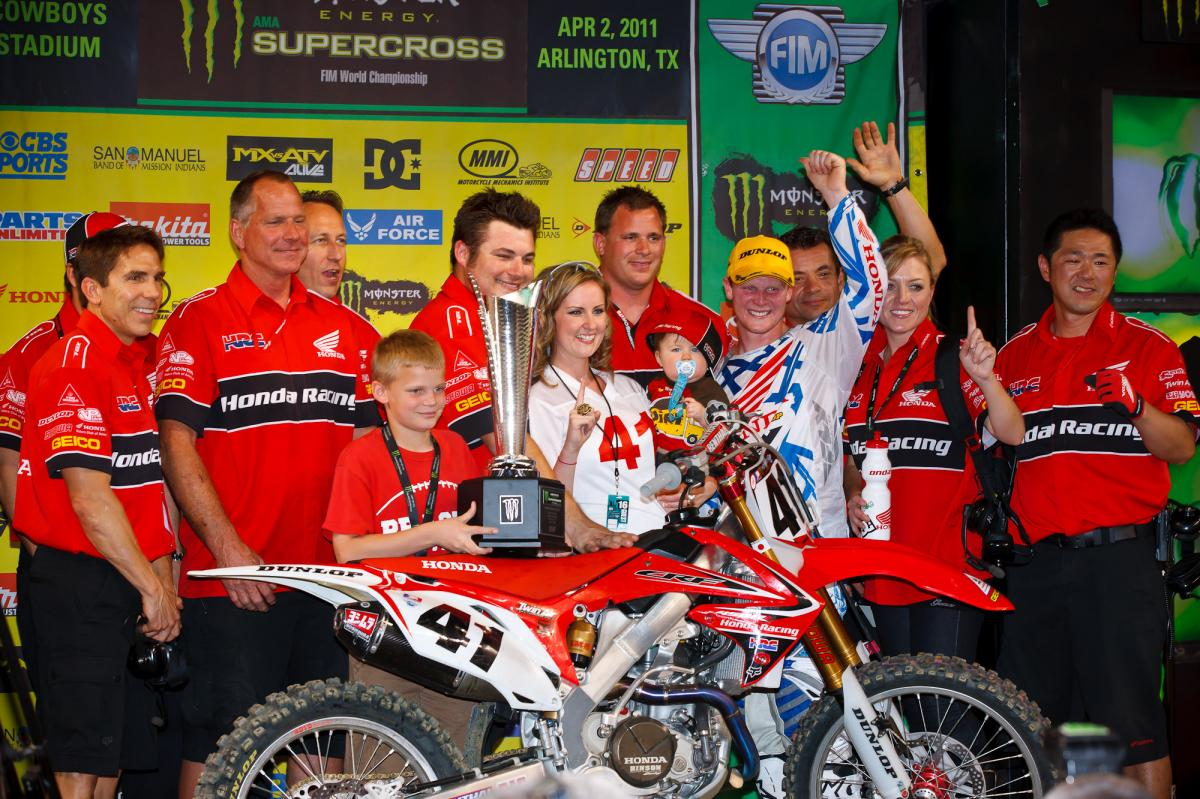 Trey Canard and Team Honda