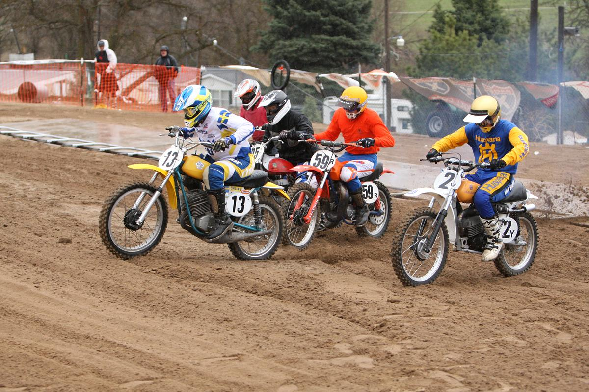 2011 Racer X Inter-AM Classic 125 1st moto start