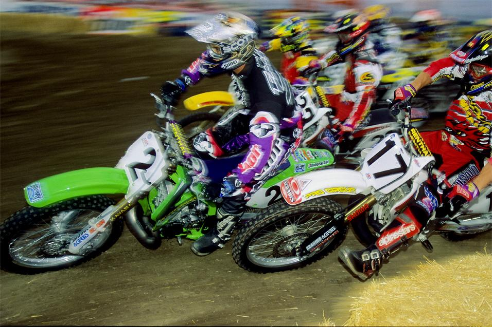 "the history of the supercross or motocross ""motocross"" comes from a combination of two french words ""moto"" for motorcycle, and ""cross"" for cross-country the sport of motocross really came into it's own in europe during the 40's."