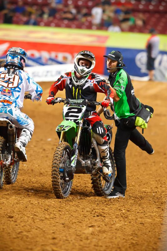 Ryan Villopoto pulls out of second practice