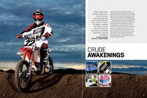 Once one of the sport's most prominent companies, Bel-Ray had let its presence slip. But when Chad Reed needed a partner for his new team, the two paired up and hit the comeback trail together. Page 134.