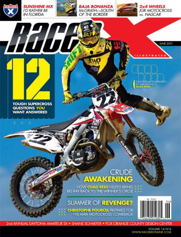 The June 2011 Issue - Racer X Illustrated Motocross Magazine