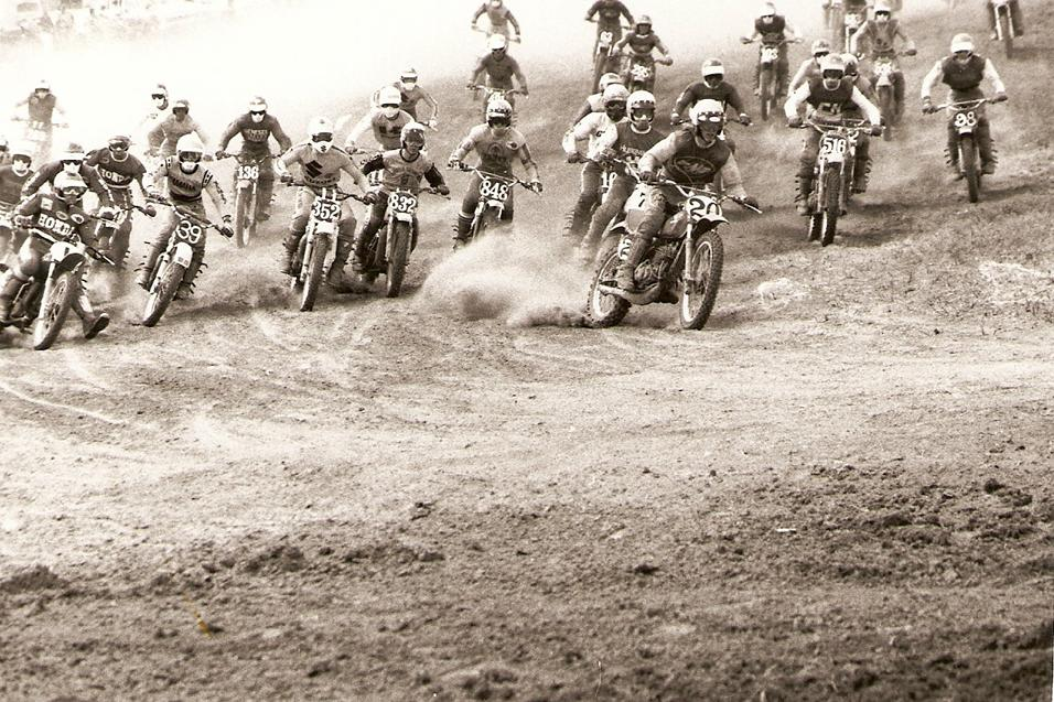 40 Day Countdown To AMA Motocross Opener: 1976