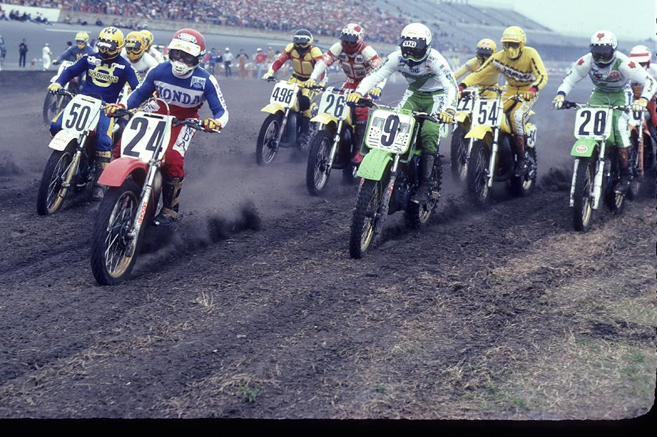 40 Day Countdown To AMA Motocross Opener: 1981