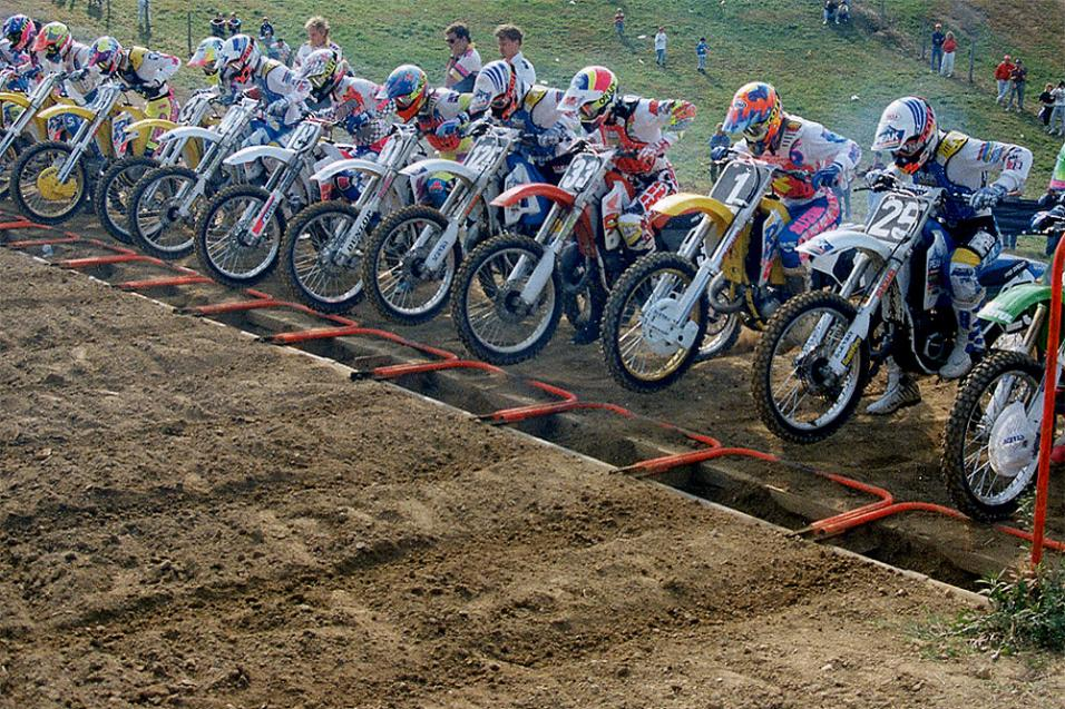40 Day Countdown To AMA Motocross Opener: 1991