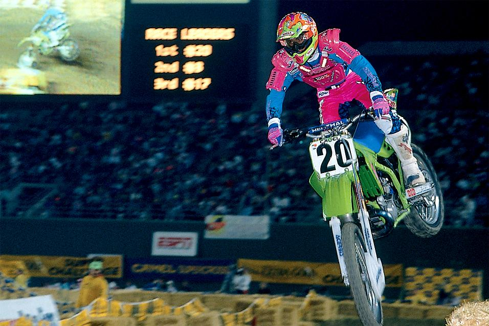 This Week in Kawasaki   SX History: Vegas 1990