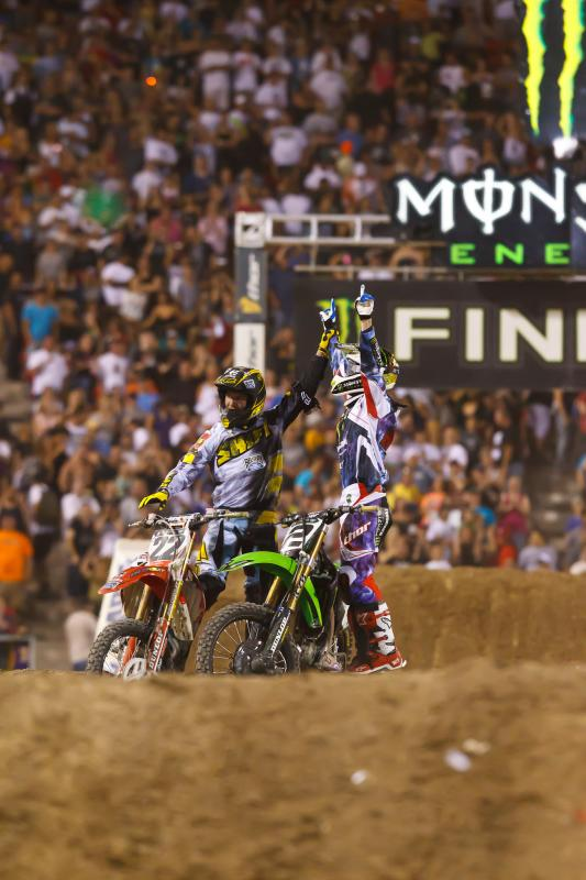 Chad Reed and Ryan Villopoto